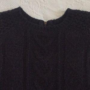 blue and gold sweater, size M (runs big)